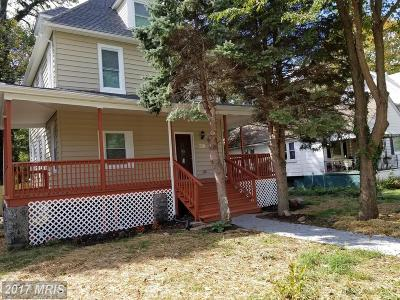 Baltimore Single Family Home For Sale: 4001 Springdale Avenue