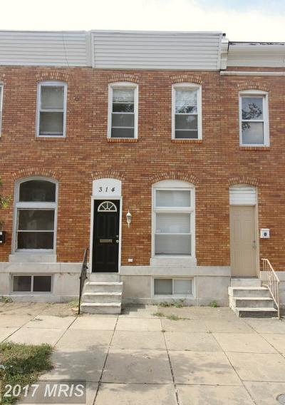 Greek Town, Greek Town Canton East, Greektown Townhouse For Sale: 314 Macon Street