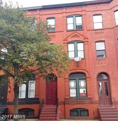 Baltimore Condo For Sale: 1803 Madison Avenue