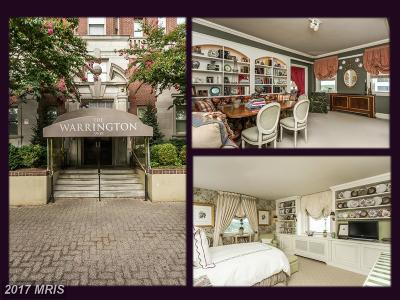 Baltimore City Condo For Sale: 3908 Charles Street N #802