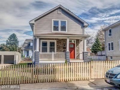 Baltimore Single Family Home For Sale: 4409 Buchanan Avenue