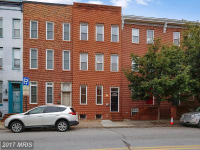 Baltimore Condo For Sale: 1327 Hanover Street