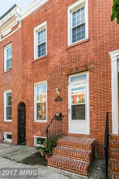 Baltimore City Condo For Sale: 1525 Charles Street S