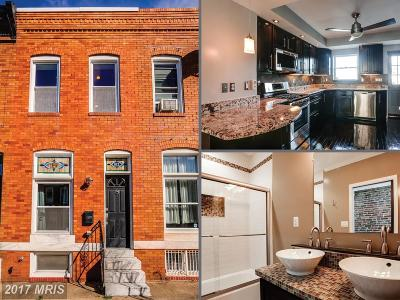 Baltimore City Condo For Sale: 811 Eaton Street