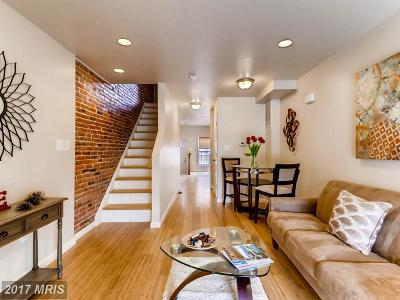 Baltimore Townhouse For Sale: 2407 Eager Street