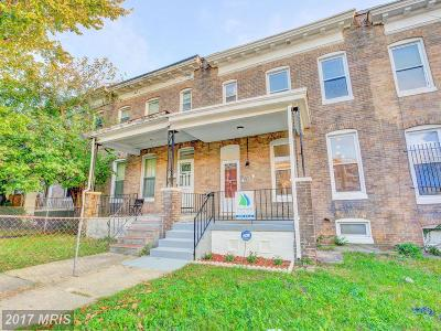Baltimore Condo For Sale: 1809 29th Street