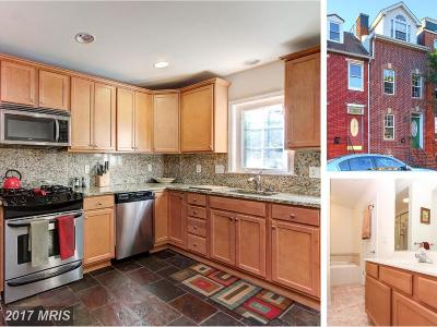 Baltimore City Condo For Sale: 1823 Gough Street
