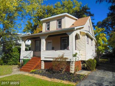 Baltimore Single Family Home For Sale: 3040 Pinewood Avenue
