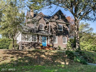 Baltimore Single Family Home For Sale: 116 Woodlawn Road