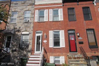 Baltimore City Condo For Sale: 3322 Hudson Street