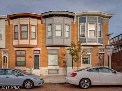 Baltimore Condo For Sale: 137 Potomac Street