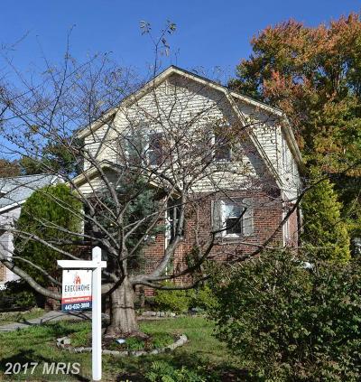 Hamden, Hamilton, Hamilton Area, Hamilton-Lauraville, Hamilton/Parkville, Hamilton/Rosemont East, Hamiltowne Single Family Home For Sale: 3042 Fleetwood Avenue