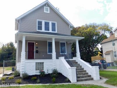 Hamden, Hamilton, Hamilton Area, Hamilton-Lauraville, Hamilton/Parkville, Hamilton/Rosemont East, Hamiltowne Single Family Home For Sale: 3013 Westfield Avenue