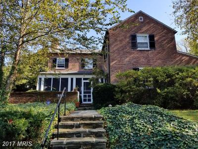 Baltimore Single Family Home For Sale: 5701 Greenleaf Road