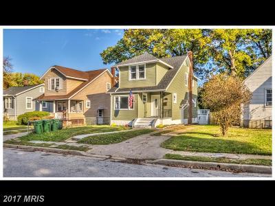 Hamden, Hamilton, Hamilton Area, Hamilton-Lauraville, Hamilton/Parkville, Hamilton/Rosemont East, Hamiltowne Single Family Home For Sale: 6209 Marietta Avenue
