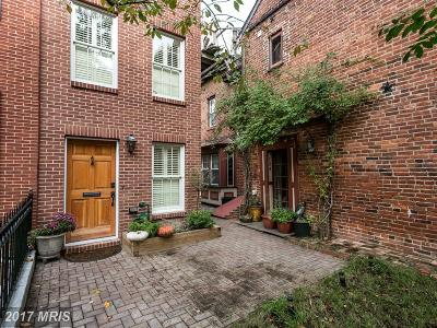 Federal Hill Townhouse For Sale: 122 Montgomery Street E