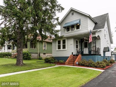 Baltimore Single Family Home For Sale: 3404 Glenmore Avenue