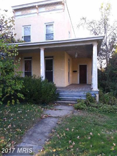 Baltimore City Single Family Home For Sale: 438 Rosebank Avenue
