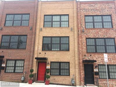 Canton, Canton Company, Canton Cove, Canton East, Canton, Patterson Park, Canton/Brewers Hill, Canton/Lighthouse Landing Townhouse For Sale: 3507 O'donnell Street