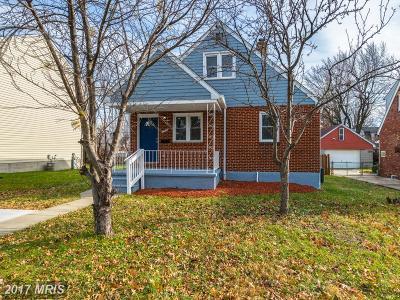 Hamden, Hamilton, Hamilton Area, Hamilton-Lauraville, Hamilton/Parkville, Hamilton/Rosemont East, Hamiltowne Single Family Home For Sale: 5419 Hillburn Avenue
