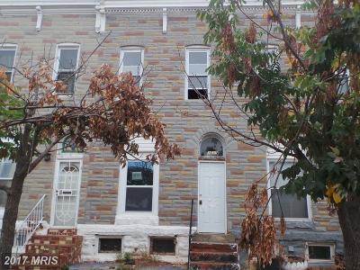 Baltimore Condo For Sale: 1631 Milton Avenue N