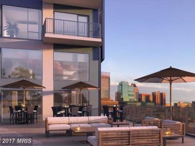 Baltimore City Rental For Rent: 414 Light Street #1501