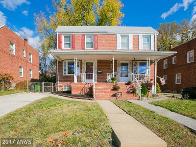 Baltimore Condo For Sale: 3708 Evergreen Avenue