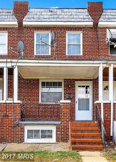 Baltimore Condo For Sale: 3534 4th Street