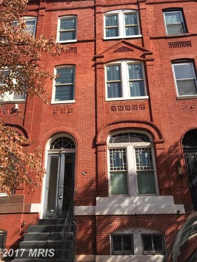Baltimore Condo For Sale: 1807 Madison Avenue