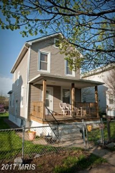 Baltimore City Rental For Rent: 507 Washburn Avenue