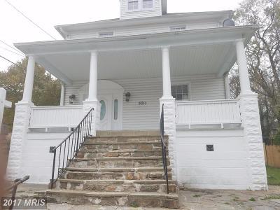 Baltimore City Single Family Home For Sale: 5011 Arabia Avenue