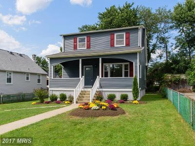 Baltimore Single Family Home For Sale: 2806 Roselawn Avenue