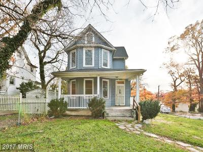 Baltimore Single Family Home For Sale: 813 Winston Avenue