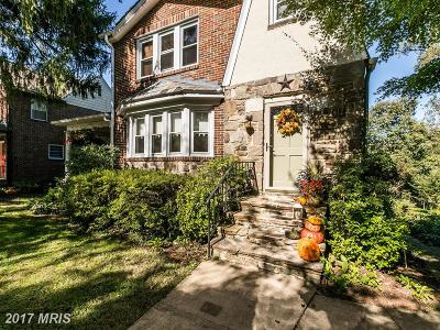 Baltimore Single Family Home For Sale: 2412 Brambleton Road