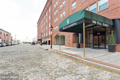Fells Poi Nt, Fells Point, Fells Point/Hopkins, Fells Pt./Hopkins Condo For Sale: 960 Fell Street #305