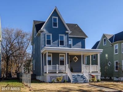 Hamden, Hamilton, Hamilton Area, Hamilton-Lauraville, Hamilton/Parkville, Hamilton/Rosemont East, Hamiltowne Single Family Home For Sale: 5603 Fair Oaks Avenue