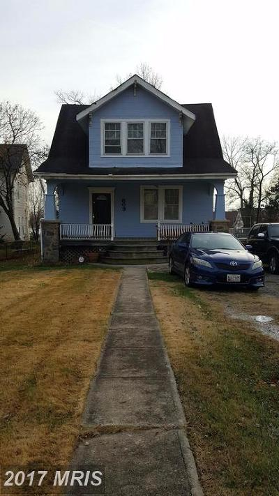Baltimore Single Family Home For Sale: 609 Tunbridge Road