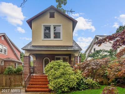 Baltimore Single Family Home For Sale: 3011 Pinewood Avenue