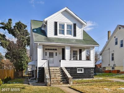 Baltimore Single Family Home For Sale: 3810 Forrester Avenue