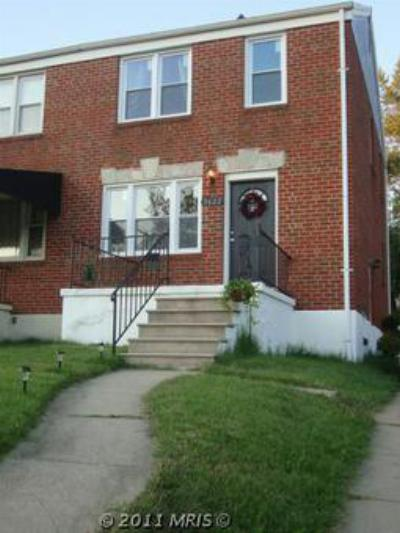 Duplex Sold: 3622 Northern Parkway