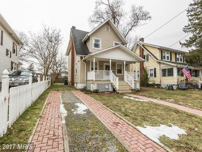 Baltimore Single Family Home For Sale: 607 Saint Dunstans Road