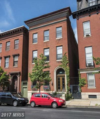 Baltimore, Baltimore City, Brooklyn, Roland Park Single Family Home For Sale: 812 Park Avenue