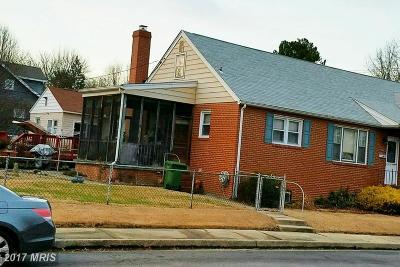 Hamden, Hamilton, Hamilton Area, Hamilton-Lauraville, Hamilton/Parkville, Hamilton/Rosemont East, Hamiltowne Single Family Home For Sale: 3709 Hamilton Avenue