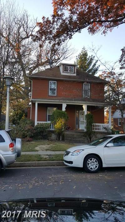 Baltimore Single Family Home For Sale: 5514 Pilgrim Road