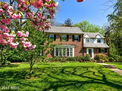 Guilford, Guilford/Jhu Single Family Home For Sale: 119 Overhill Road