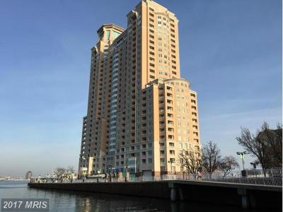 Baltimore City Rental For Rent: 100 Harborview Drive #PH3C