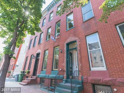 Baltimore City Condo For Sale: 2113 Pratt Street E