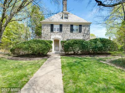 Guilford, Guilford/Jhu Single Family Home For Sale: 3801 Charles Street