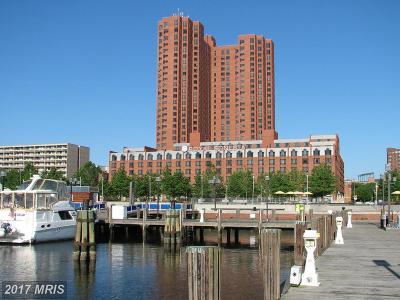 Baltimore City Rental For Rent: 10 Lee Street E #2301