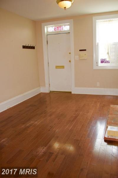 Baltimore City Rental For Rent: 116 Hamburg Street E